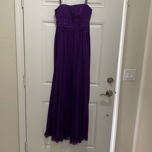 BCBG Maxazria Strapless Formal Dress